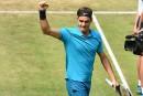 Roger Federer poursuit sa route à Halle