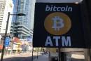 Le bitcoin, au plus bas depuisfévrier