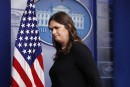 La porte-parole de la Maison-Blanche priée de quitter un restaurant