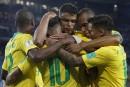 Le Brésil termine au premier rang de son groupe