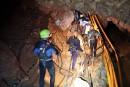 Thaïlande: un premier groupe d'enfants évacué de la grotte
