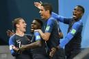 La France passe en finale de la Coupe du monde