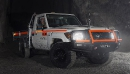 Le Voltra e-Cruiser est testé sous terre à la mine... | 10 juillet 2018