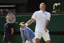 Wimbledon: Roger Federer éliminé par Kevin Anderson