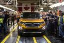 Le Ford Edge est assemblé à Oakville, en Ontario.... | 11 juillet 2018