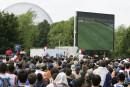 La finale de la Coupe du monde sur écran géant au parc Jean-Drapeau