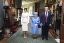 ElizabethII accueille Donald Trump àWindsor