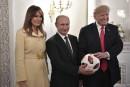 Vladimir Poutine vante la compétence de Donald Trump