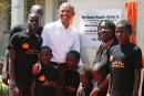 Obama salue la réconciliation des ennemis politiques au Kenya