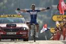 Tour de France: Julian Alaphilippe s'impose dans les Alpes