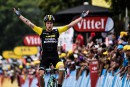 Tour de France: Primoz Roglic sort Chris Froome du podium