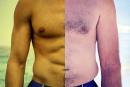 La pression du beau corps pour les hommes