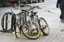 Montréal ajoutera 1000supports à vélo