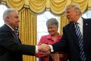 Donald Trump veut la fin de l'enquête russe