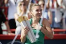 Simona Halep triomphe en finale de la Coupe Rogers