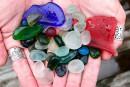 Des plages qui scintillent de couleurs