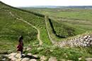 Le mur d'Hadrien: ici s'arrêtait l'Empire romain