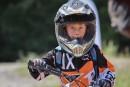 Moto hors route en famille