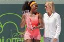 Williams a en partie raison, même si elle a tort, dit Navratilova