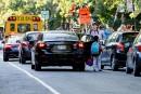 Sécurité en zone scolaire: autos, vélos, chaos