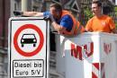 Allemagne: accord sur le sort des vieux diesels