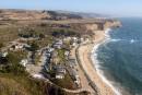 En Californie, la plage reste ouverte à tous