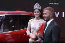 Mondial de Paris: David Beckham présente deux véhicules Made in Vietnam