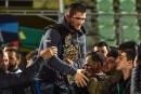 Khabib Nurmagomedov accueilli en héros au Daguestan