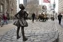 Londres pourrait avoir bientôt sa statue de la «Fillette intrépide»