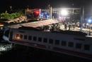Taïwan: au moins 18 morts dans un accident de train