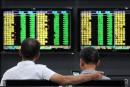 Les Bourses chinoises clôturent en forte hausse