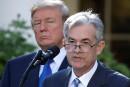 Trump accuse le patron de la Fed de se réjouir de la hausse des taux