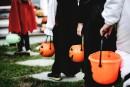 La police de l'Halloween