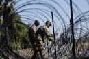 Pas d'interactions entre l'armée et les migrants à la frontière américano-mexicaine