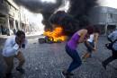 La jeunesse haïtienne manifeste contre le pouvoir en place
