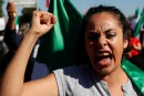 Manifestation anti-migrants dans le nord du Mexique