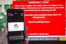 Test des alertes sur appareils mobiles mercredi