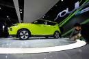 La Kia Soul Éco tout électrique 2020 lors de sa... | 29 novembre 2018