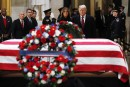 Donald Trump se joint au concert d'hommages à George H. W. Bush