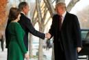 Trump rencontre les Bush avant les funérailles du 41<sup>e</sup> président