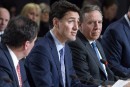 Réunion des PM: Trudeau ferme au sujet de la taxe sur le carbone