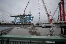 Pont Champlain: de l'arsenic et du plomb sur le chantier