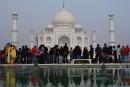 Le prix d'entrée au Taj Mahal multiplié par cinq pour les visiteurs indiens