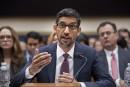 Pas de «biais politique» sur Google, martèle son patron devant le Congrès américain