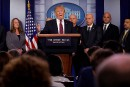 Trump s'accroche au mur, se dit prêt à un <em>shutdown</em>de longue durée