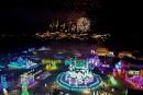 Chine: la ville de Harbin tient son 35e Festival international de sculptures de glace