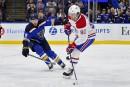 Canadien 1 - Blues 4 (marque finale)