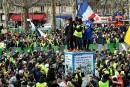Gilets jaunes: neuvième journée de mobilisation nationale en France