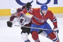 Avalanche 0 - Canadien 3 (Marque finale)