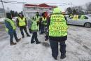 Les «gilets jaunes» québécois se réunissent à Victoriaville